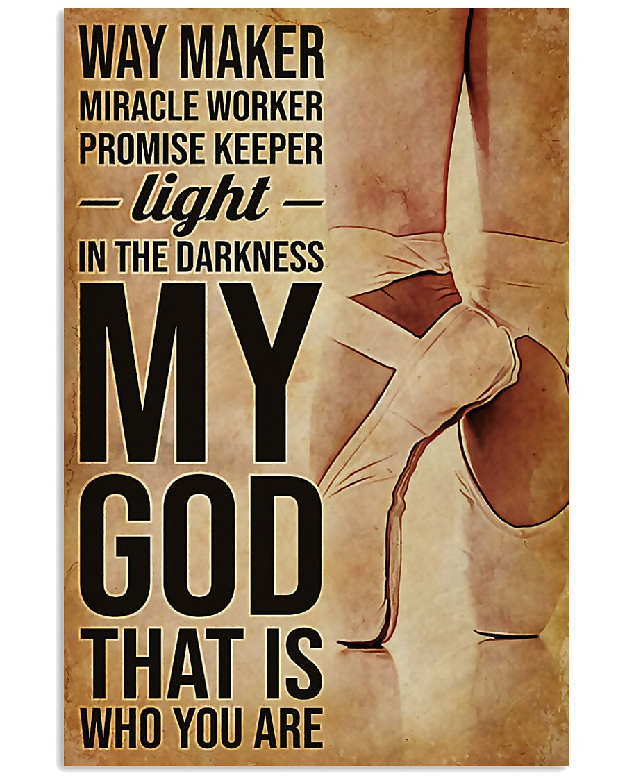 Ballet Way Marker Miracle Worker 11x17 Poster