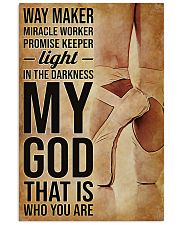 Ballet Way Marker Miracle Worker 11x17 Poster front
