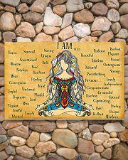 Yogi I Am 17x11 Poster poster-landscape-17x11-lifestyle-15