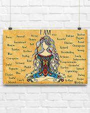 Yogi I Am 17x11 Poster poster-landscape-17x11-lifestyle-17