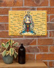 Yogi I Am 17x11 Poster poster-landscape-17x11-lifestyle-23