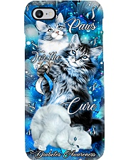 Diabetes Awareness Paws For The Cure Phone Case i-phone-7-case