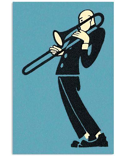 Trombonist Trombone Man Sand Art Painting