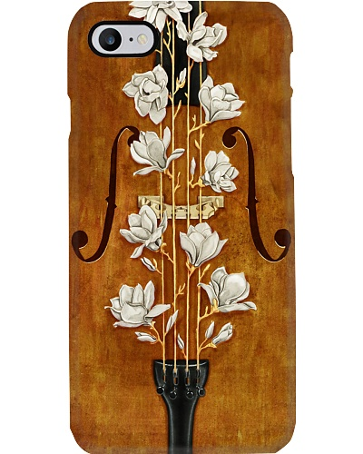 Cello Flower Cellist Gift