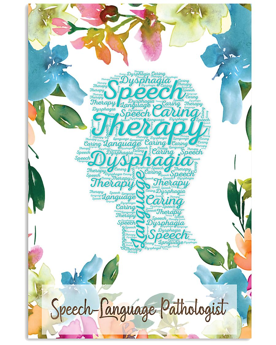 SLP Speech Therapy Dysphagia  11x17 Poster