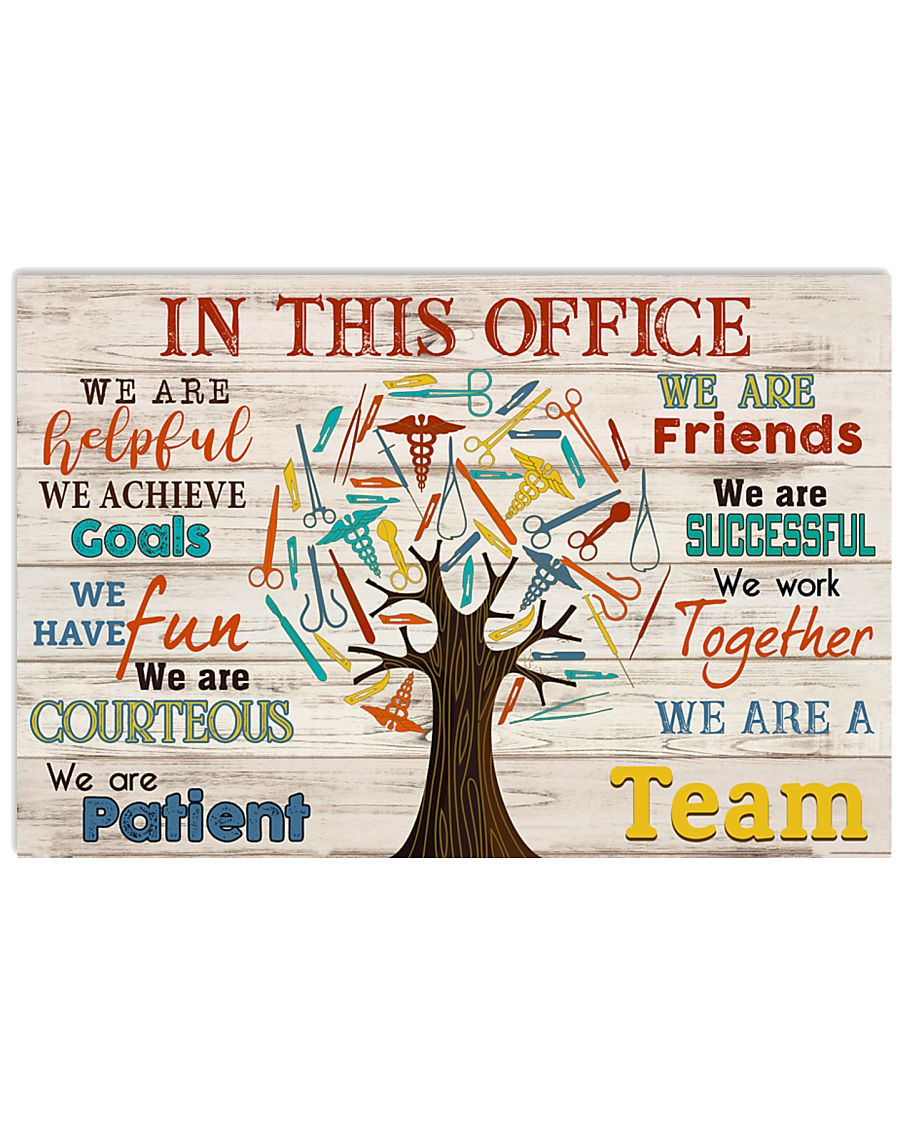 Surgical Tech We Are A Team 17x11 Poster