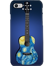 Blue Art Ukulele Phone Case i-phone-7-case