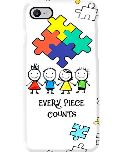 Autism Awareness Every piece counts Phonecase
