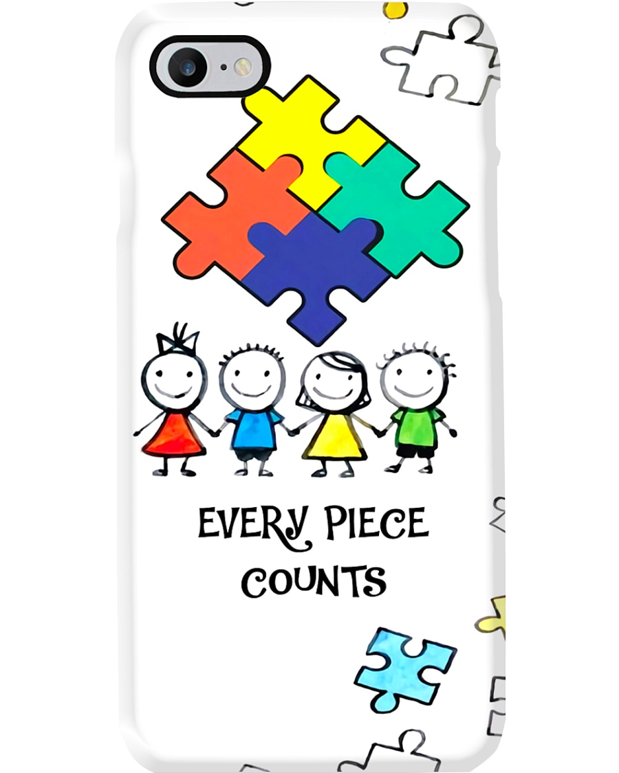 Autism Awareness Every piece counts Phonecase Phone Case