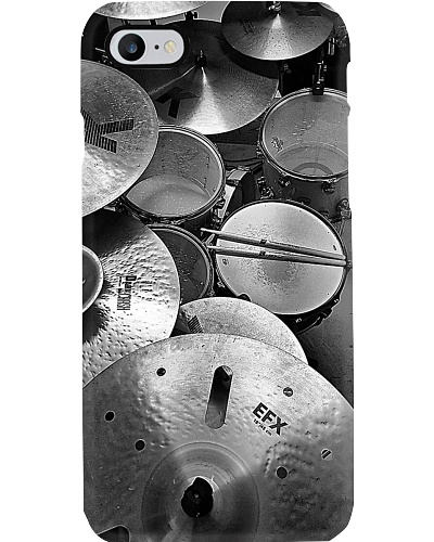 Drums Black And White Drummer Gift