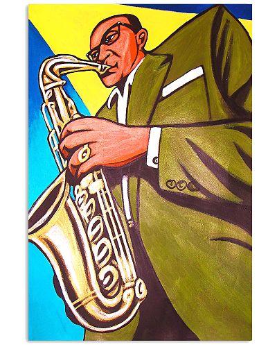 Elegant Saxophone Man