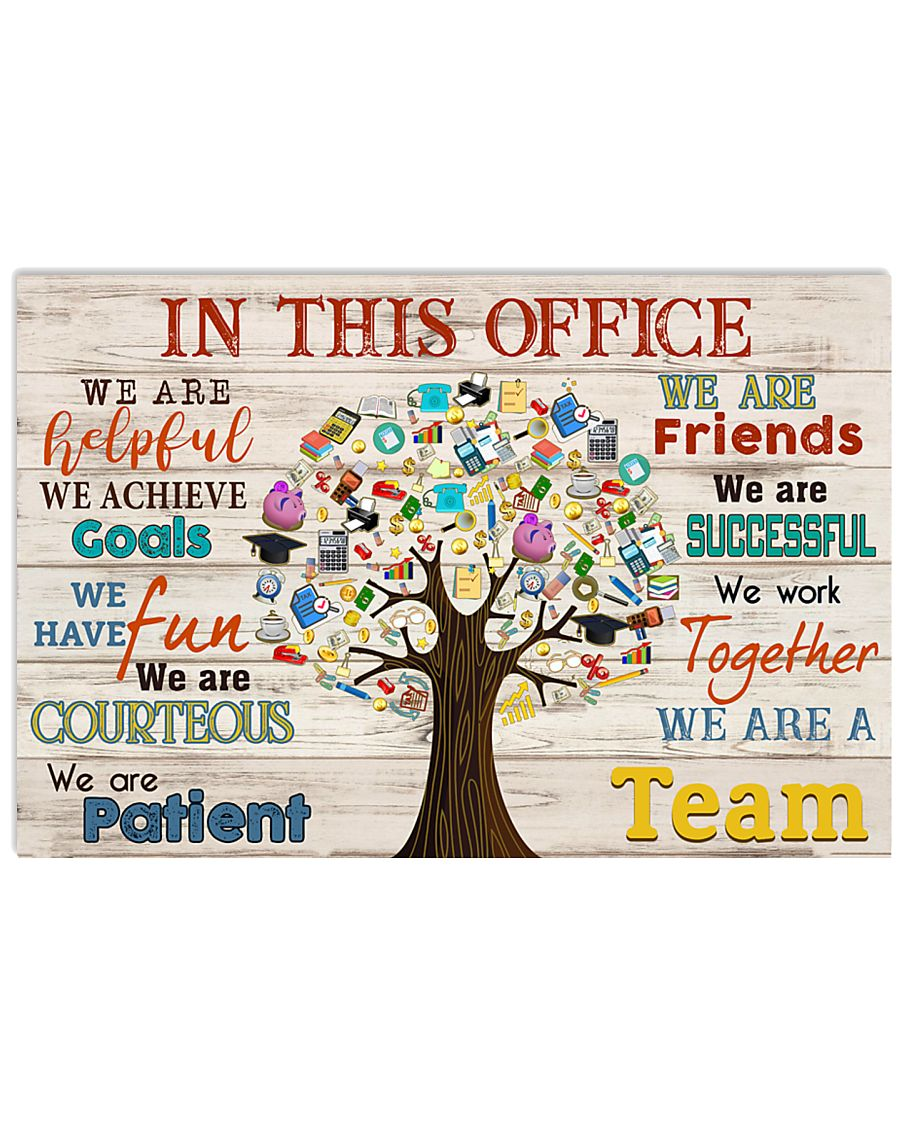 Accountant We Are A Team 17x11 Poster