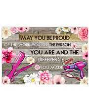 Hairstylist May You Be Proud Of The Work You Do 17x11 Poster front