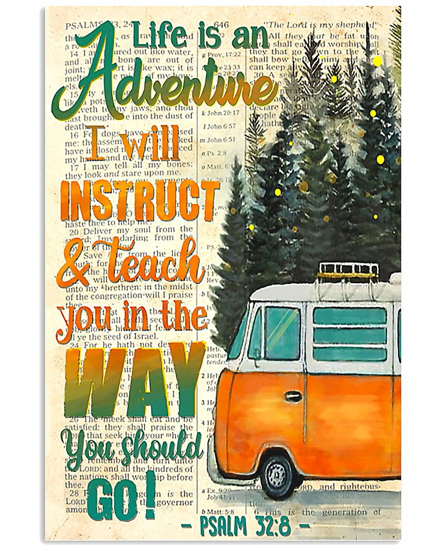 Camping Life is an adventure  11x17 Poster