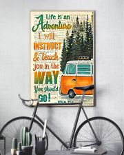 Camping Life is an adventure  11x17 Poster lifestyle-poster-7