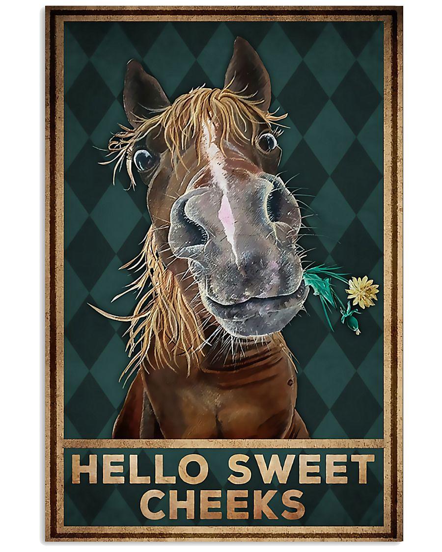 Horse Girl - Hello Sweet Cheeks 11x17 Poster