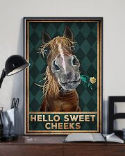 Horse Girl - Hello Sweet Cheeks 11x17 Poster lifestyle-poster-2