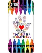 Teacher Teaching Is A Work Of Heart Phone Case i-phone-7-case