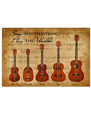 Play The Ukulele 17x11 Poster front