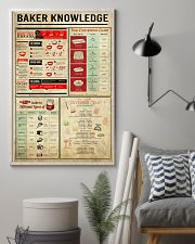 Baking Baker Knowledge Poster 11x17 Poster lifestyle-poster-1