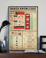 Baking Baker Knowledge Poster 11x17 Poster lifestyle-poster-2
