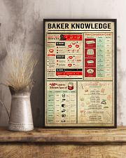 Baking Baker Knowledge Poster 11x17 Poster lifestyle-poster-3