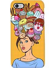 Baking Girl with cakes Phone Case i-phone-7-case