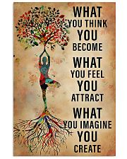 Yoga What You Think You Become 11x17 Poster front