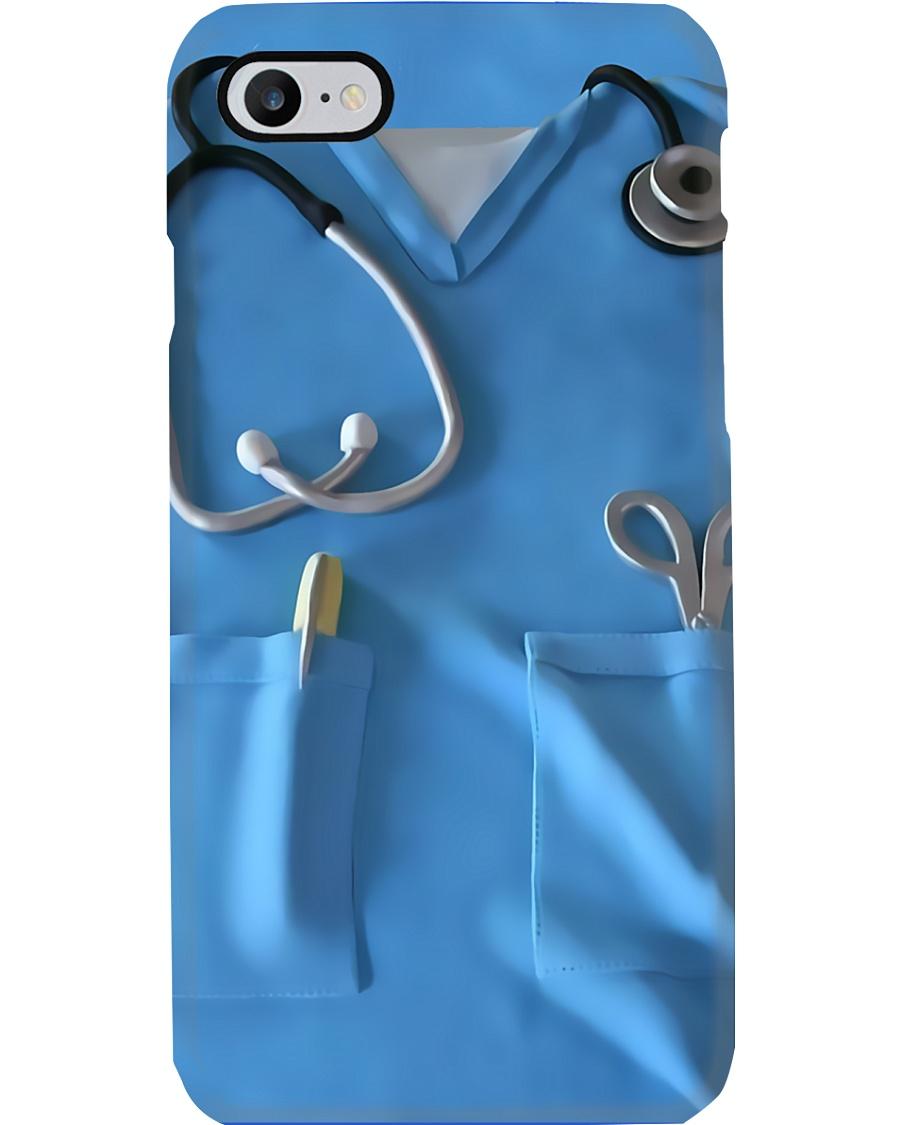 Nurse Blue Scrub Phone Case