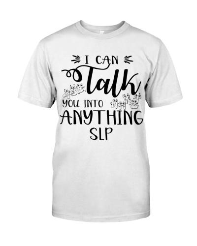 Speech Language Pathologist Talk You Into Anything