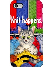 Crochet and Knitting Knit Happens Phone Case i-phone-7-case