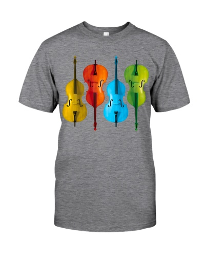 Contrabass Double Bass Colorful