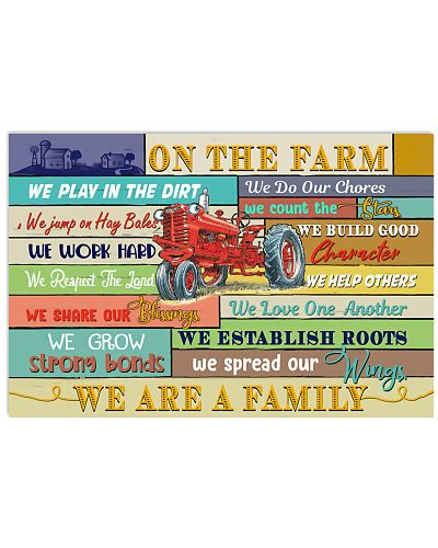 Farmer On The Farm We Are A Family