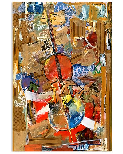 Cellist Gift Colorful Cello