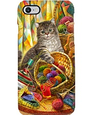 Crochet and Knitting Cat Phone Case i-phone-7-case