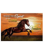 Horse Girl - Where the spirit of the Lord is 17x11 Poster front