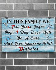 Diabetes In This Family  17x11 Poster poster-landscape-17x11-lifestyle-18