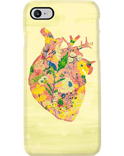 Paramedic Heart With Flowers
