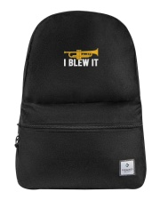 Trumpet I Blew It Backpack thumbnail