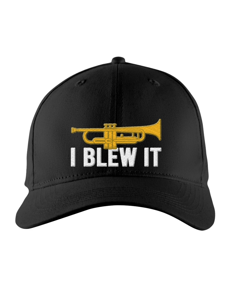 Trumpet I Blew It Embroidered Hat