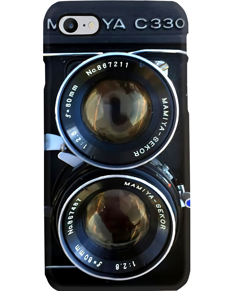 Photographer Mamiya C33 Double Lens Camera Phone Case