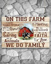 Farmer On This Farm We Do Family 17x11 Poster poster-landscape-17x11-lifestyle-13