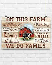 Farmer On This Farm We Do Family 17x11 Poster poster-landscape-17x11-lifestyle-17