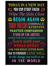 Social Worker Today is a new day Poster 11x17 Poster front