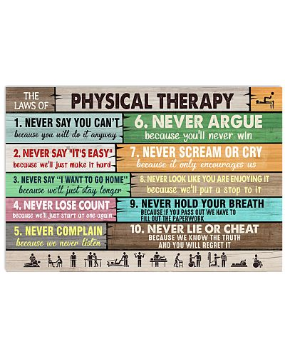 The Laws Of Physical Therapy