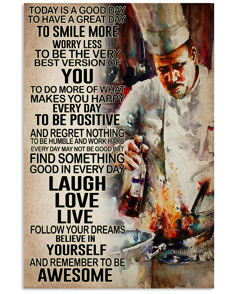 Chef - Remember to be awesome 11x17 Poster