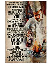 Chef - Remember to be awesome 11x17 Poster front
