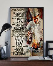 Chef - Remember to be awesome 11x17 Poster lifestyle-poster-2