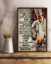 Chef - Remember to be awesome 11x17 Poster lifestyle-poster-3