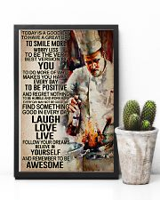 Chef - Remember to be awesome 11x17 Poster lifestyle-poster-8